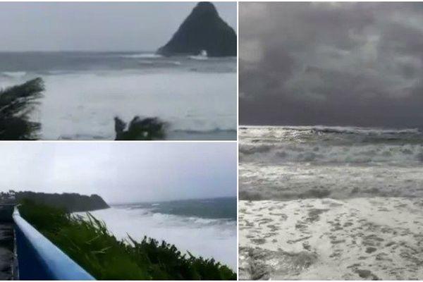 Premiers effets du cyclone Maria