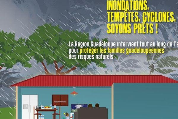 Région Guadeloupe risques naturels