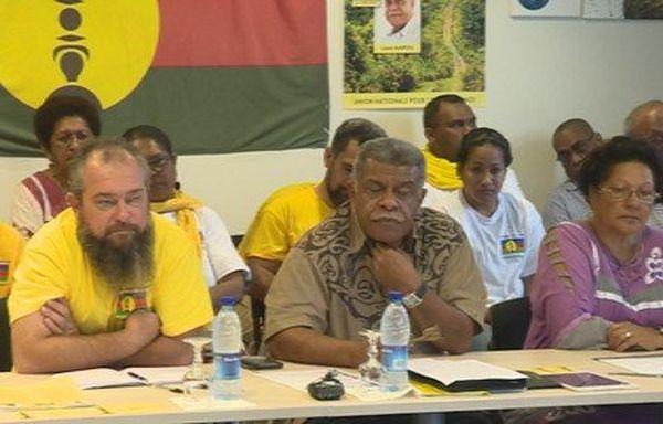 Louis Mapou Jean Creugnet conférence de presse entre-deux tours législatives (juin 2017)