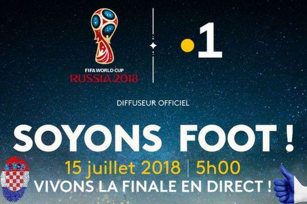 Coupe du Monde : la finale France-Croatie, dimanche 15 juillet à 4h50 sur Polynésie la 1ère