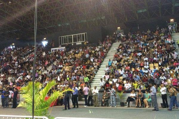 Meeting de Gilbert Anette stade Jean Ivoula