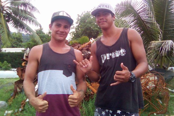 Les jeunes de Punaauia, inquiets pour leur plage