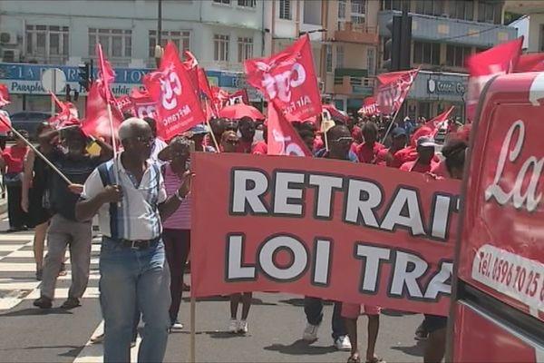 Loi el Khomri : petite mobilisation en Martinique