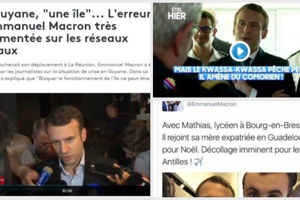 Macron et les Outre mer