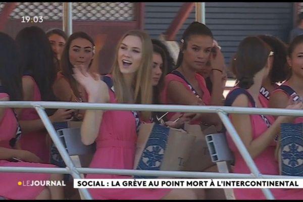 Les candidates à Miss France mettent le cap sur Moorea