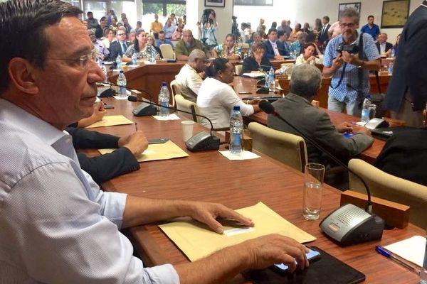 Election à la province Sud, Philippe Gomès, 17 mai 2019