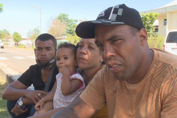 famille migrants cubains