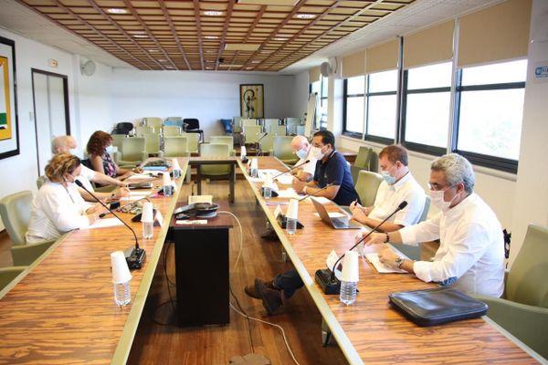 Réunion du 24 août du Comité des experts médicaux de Guyane à la CTG