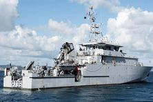 """Le patrouilleur Antilles-Guyane """"La Combattante"""" des forces armées aux Antilles"""