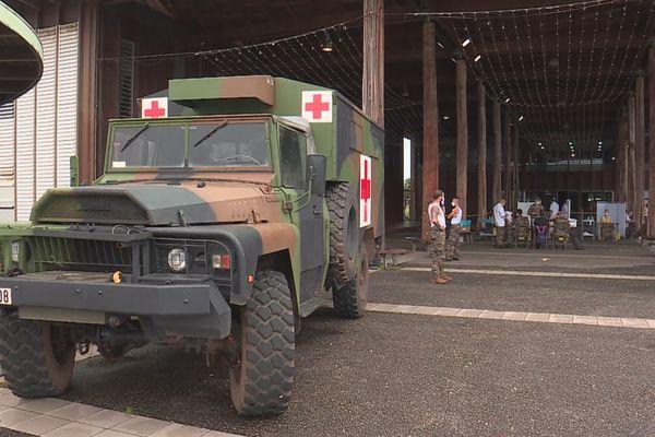 Vaccination à Kourou