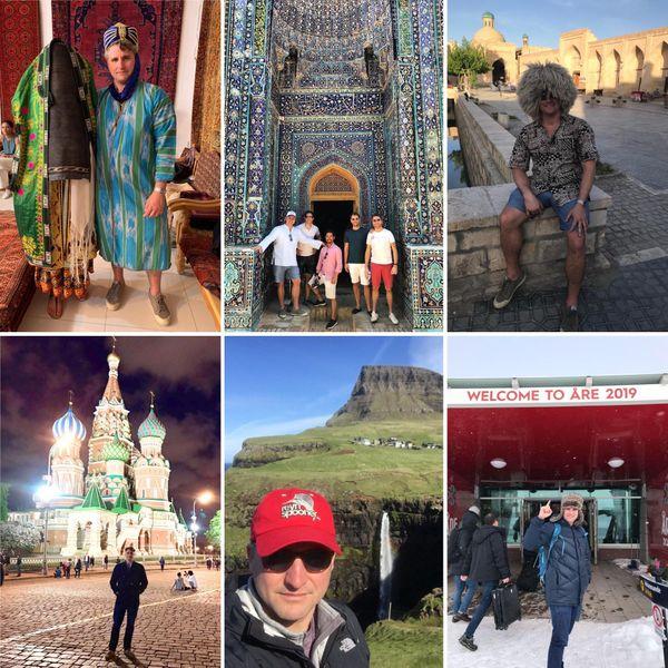 Peter a visité 93 pays et ne compte pas s'arrêter là