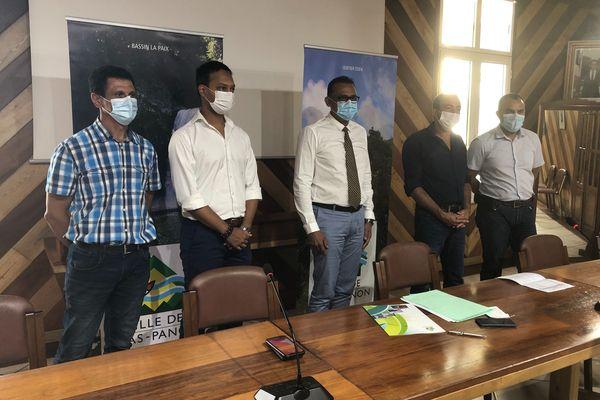 Conférence de presse foire agricole de Bras Panon