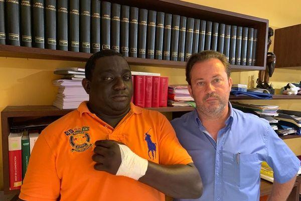 De gauche à droite Albert Tarcy et Jérôme Gay