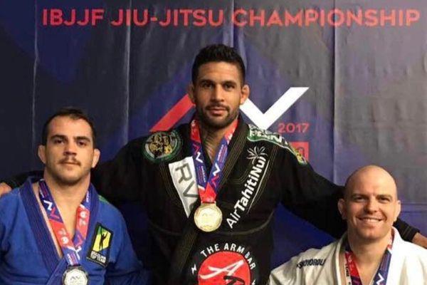 Dany Gérard vainqueur du American National Jiu-Jitsu Championship