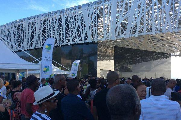 Commémoration Abolition esclavage Mémorial ACTe