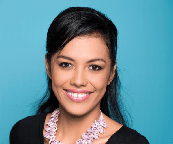 Lovaina Chapman, animatrice TV Polynésie 1ère