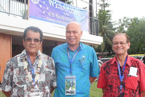 Ceremonie ouverture 47 Forum des îles du Pacifique
