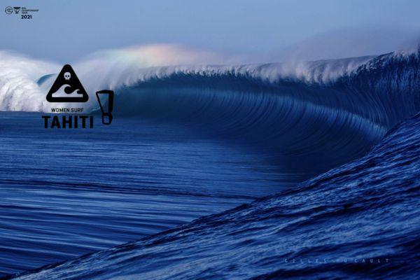 tahiti women surf