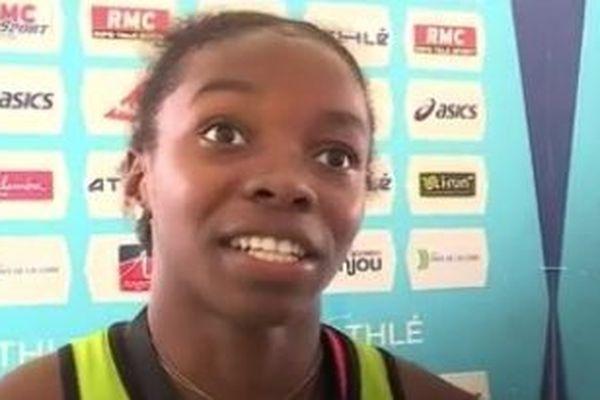 Gémima Joseph championne de France junior du 100 m