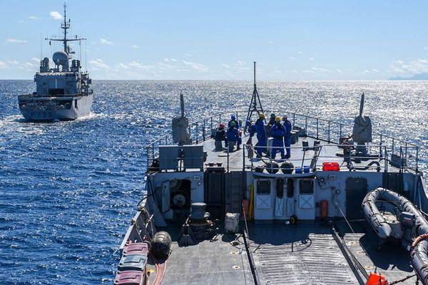 Marine nationale / frégates en mission