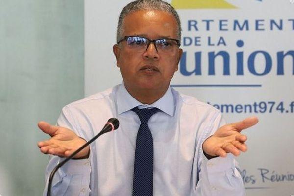 Cyrille Melchior, le président du Conseil Départemental.