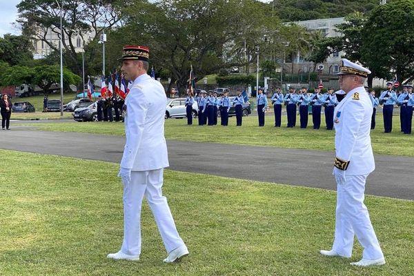 Départ du général Marietti, patron de la gendarmerie en Calédonie, 8 juillet 2021