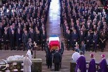 Cérémonie funèbre de Jacques Chirac à l'église Saint-Sulpice, à Paris