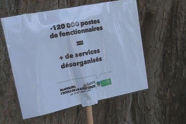 Manifestation syndicats éducation nationale contre loi Blanquer 300319