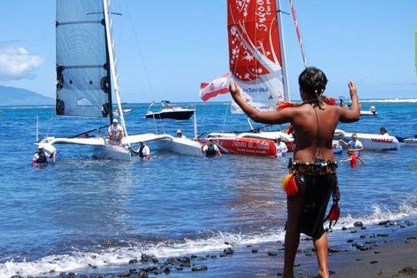 baptème trésors de Tahiti