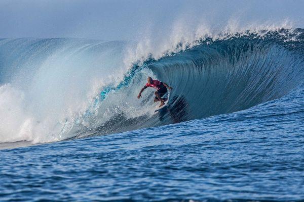 Kelly Slater Bilabong Pro Tahiti