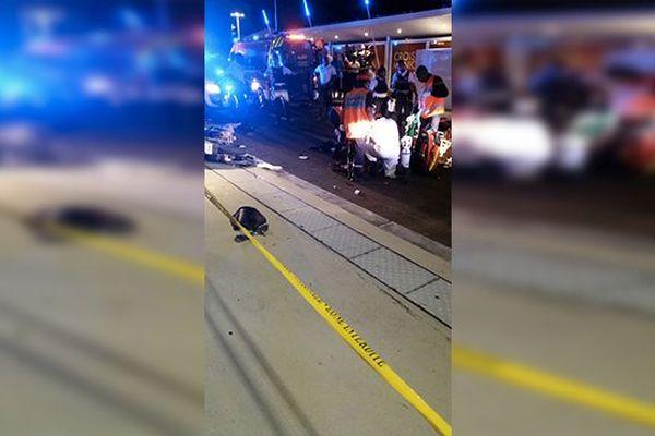 Accident de motos
