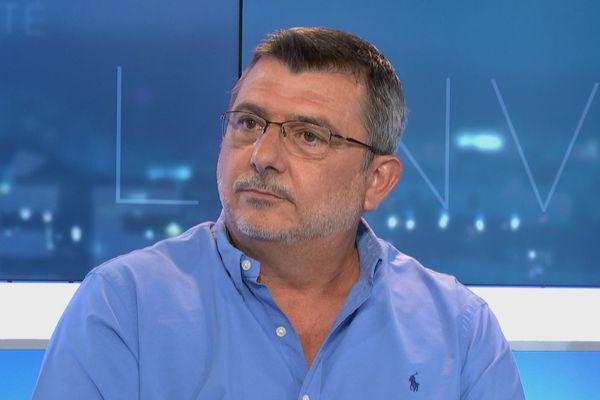 Philippe Germain invité du JT pour son association de réflexion, 29 octobre 2019