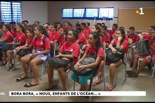 Plaidoyer pour la planète des enfants de Bora Bora