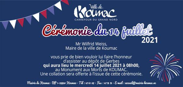14 juillet à Koumac