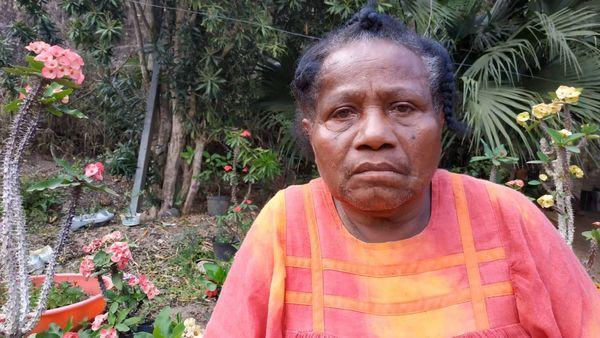 Valentine Hmé, victime des glissements de terrain du 22 novembre 2016 à Houaïlou