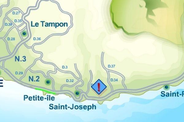 carte sud saint-Jospeh