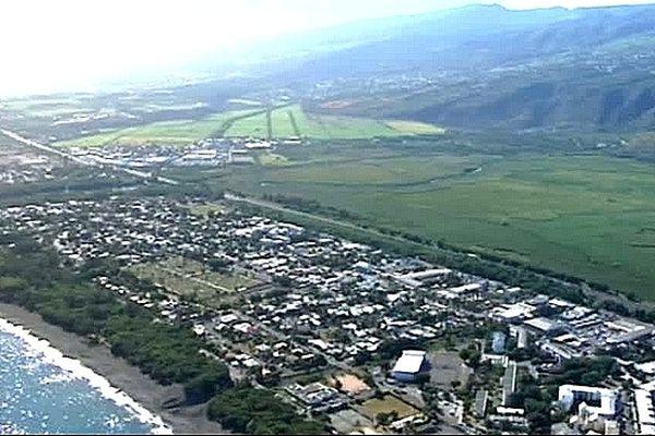 Vue aérienne de Saint-Paul