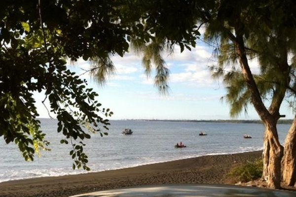 Baie de St-Paul : recherches en mer