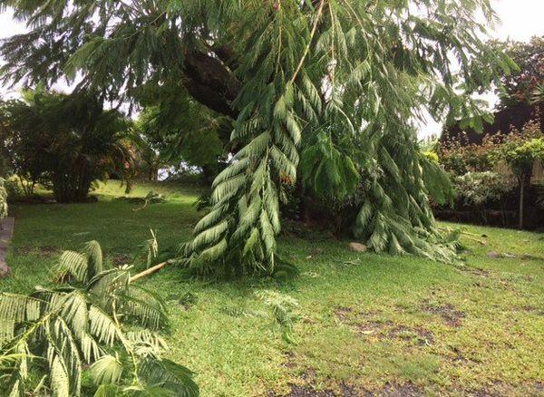 Coup de vent et dégâts à Tahiti, mais pas de cyclone comme à Fidji