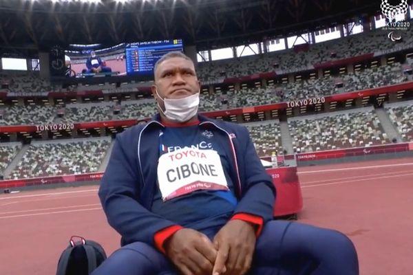 Thierry Cibone avant sa finale du javelot, le 1er septembre 2021? à Tokyo.