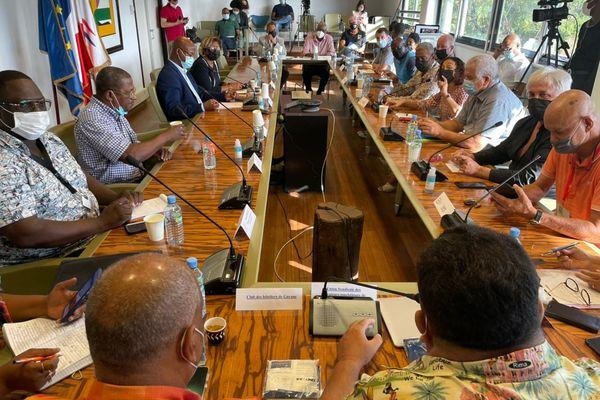 Nouvelles mesures de freinage : Les socioprofessionnels de Guyane remettent leurs doléances aux élus
