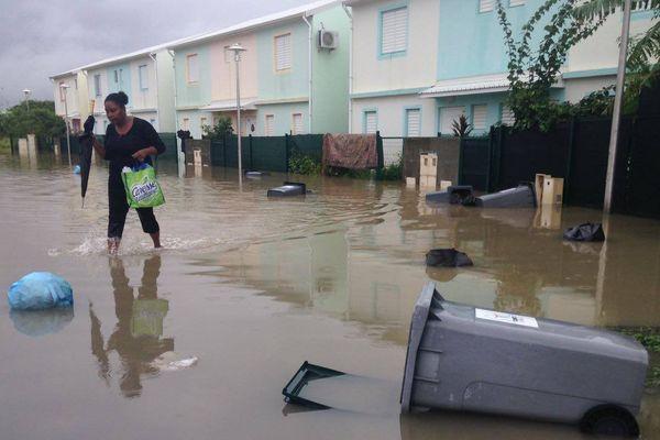 Pluies et inondation à Port Louis