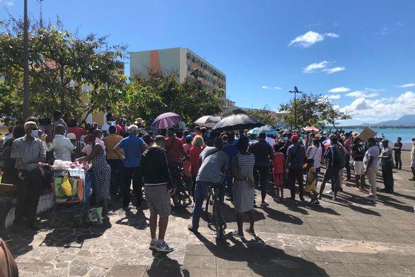 Manifestation contre expulsion ressortissants haïtiens 05/12/2020