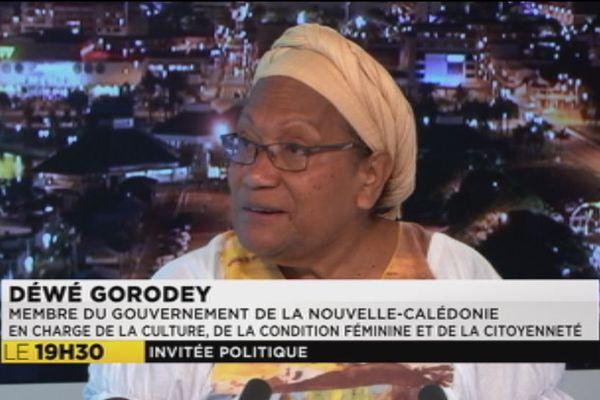 Déwé Gorodey - invitée politique du 25 septembre