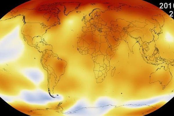temperatures terre