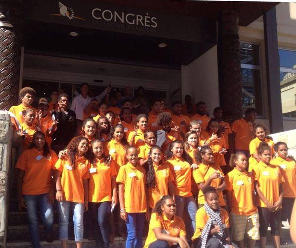 Photo congrès des jeunes deuxième mandature groupe (12 mai 2017)