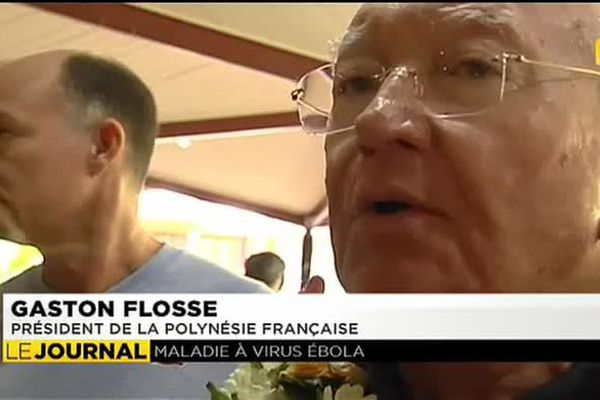 Principe de précaution pour Flosse face à Ebola