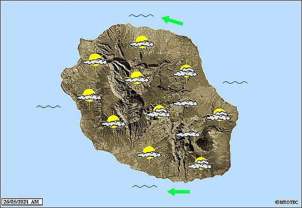 Carte météo 26 mai 2021