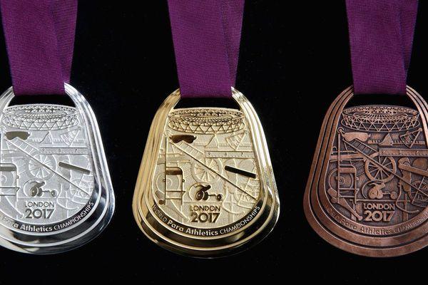 Médailles championnats du monde handisport