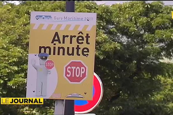 Le parking de la gare maritime interdit aux prestataires